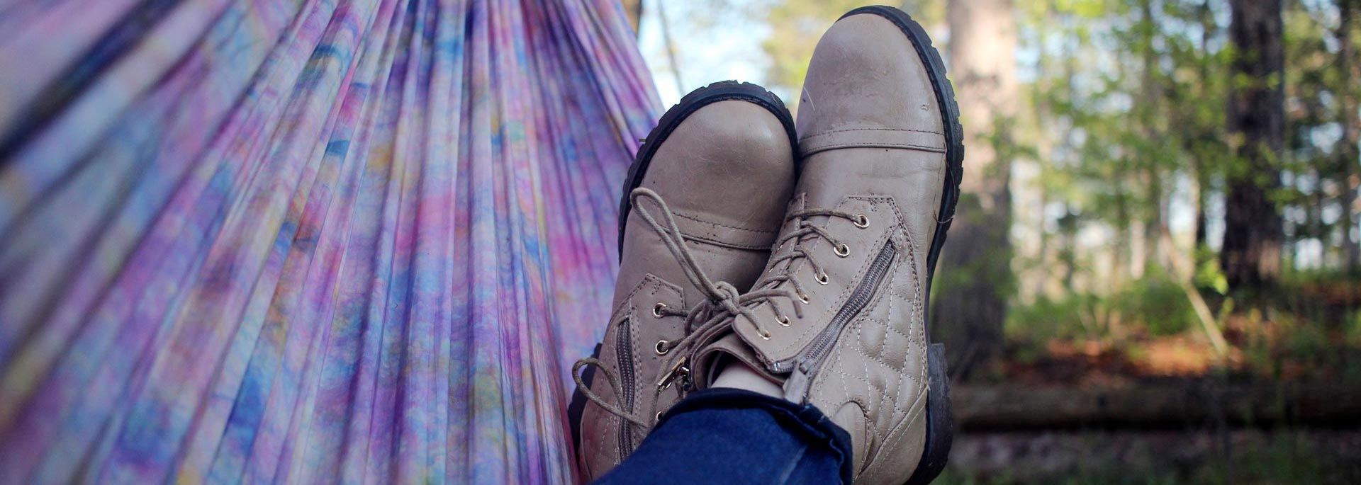 Shoes on Hammock